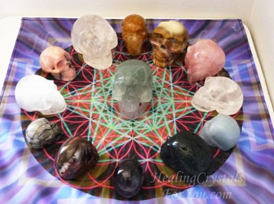 Crystal Skulls Symbolism Using Crystal Skulls And The