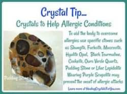 Stones that help allergies