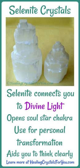 Selenite Crystals Connect To Divine Light