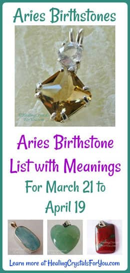 Aries Birthstones