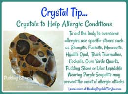 Crystal Tip Crystals to Help Allergic Conditions