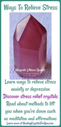 Learn ways to relieve stress