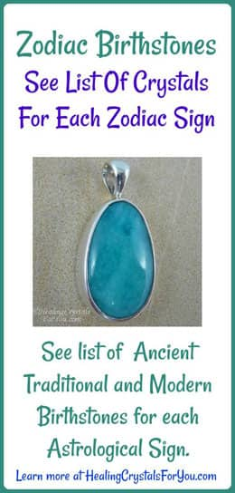 Zodiac Birthstones For All Twelve Astrology Signs On