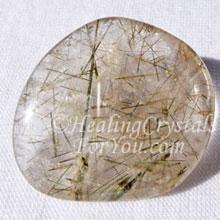 Actinolite dans le quartz