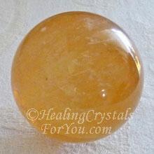 Calcite ambrée