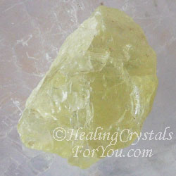 Yellow Amblygonite