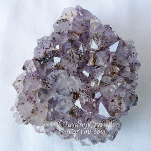 Cacoxenite Amethyst
