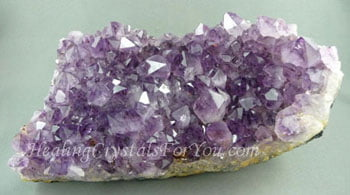 Amethyst Crystals Embody Potent Violet Flame Healing Energy
