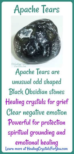 Apache Tears Meaning Amp Use Heal Grief Gives Protection