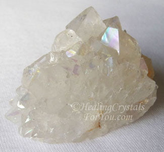 Aurora Quartz Meaning & Use: Rainbow Quartz Crystal