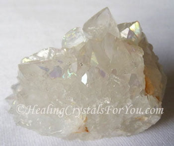 Aurora Quartz Meaning & Use: Rainbow Quartz Crystal