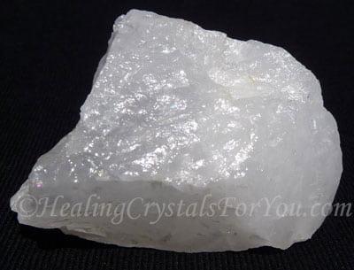 White Azeztulite® stone