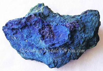 Azurite Meaning & Use: Aids Third Eye Activation & Psychic Gifts