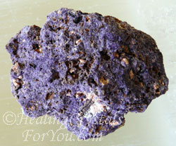 Bastnasite in Purple Fluorite