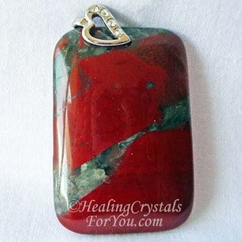 Mystical Bloodstone Meaning & Use: Instils Courage, Comfort & Strength