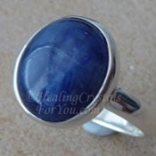 Blue Kyanite Ring