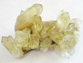 Natural Burmese Citrine Crystal Cluster