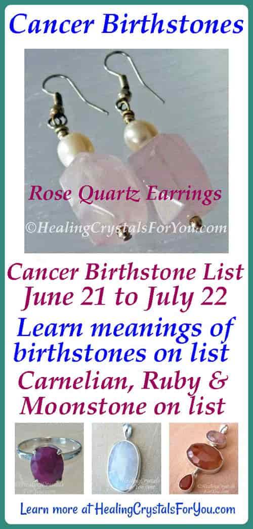 Cancer Birthstones