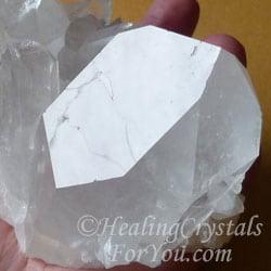 channeling quartz