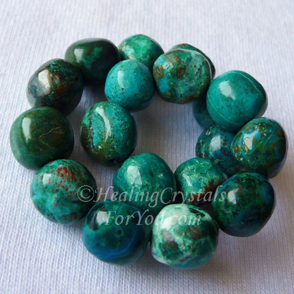 Chrysocolla Bead Bracelet