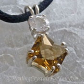 Citrine John Of God pendant