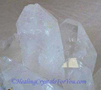 Clear Quartz Crystal Cluster