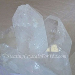 Quartz crystal vibration