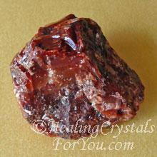 Dark Red Calcite