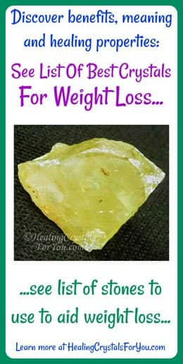 Top Six Crystals For Weight Loss, Which Crystals Help You