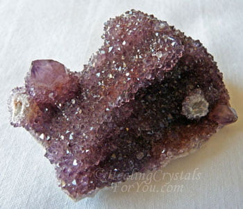 Deep Purple Spirit Quartz