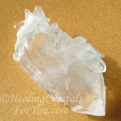 Double Terminated Clear Quartz