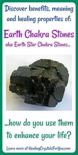 Earth Chakra Stones