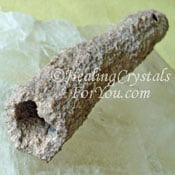 Fulgurite Stone Tube