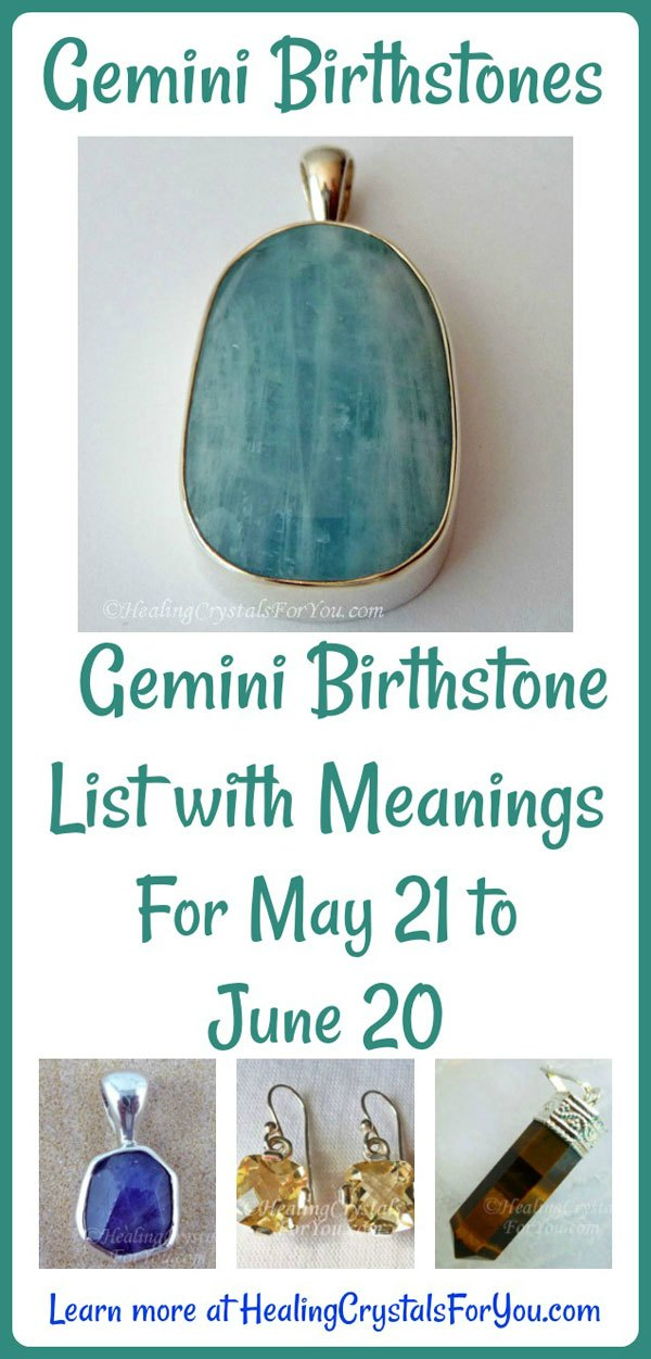 Gemini Birthstone List Of Birthstones Meanings 21st May To 20th June