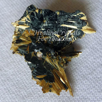 Golden and Black Rutile