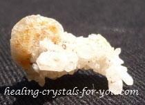 Golden Herderite Cluster