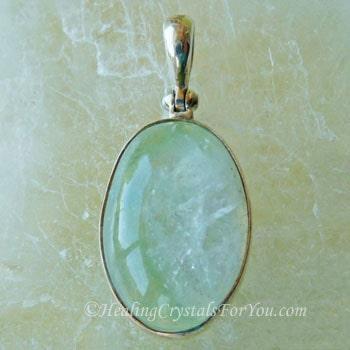 Green Apophyllite Pendant