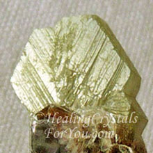 Green Chrysoberyl Twinned