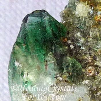 Green Diopside Crystal