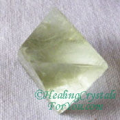 Green Fluorite Octohedron