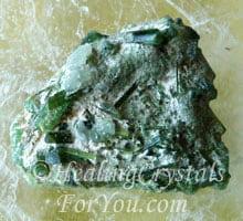 Green Tourmaline Crystal