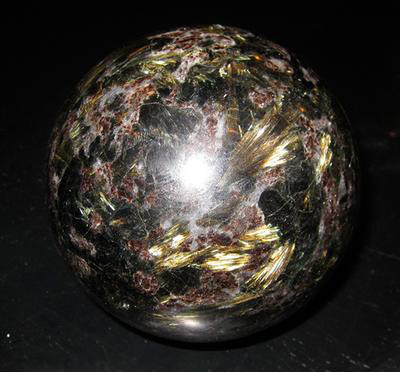My Arfvedsonite Sphere