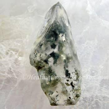 Hedenbergite in Quartz