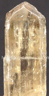 Hiddenite - Yellowish