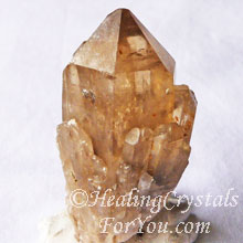Kundalini Quartz, a variety of Citrine