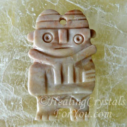 Machu Picchu Stone Pendant