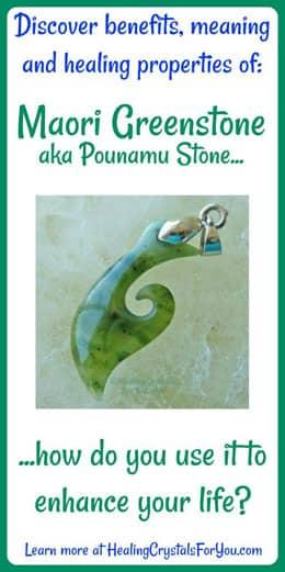 Maori Greenstone