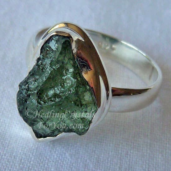 Moldavite is a high crystal energy stone.