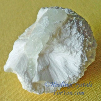 Mordenite With Apophyllite
