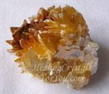 Yellowish Brown Muscovite Mica Cluster